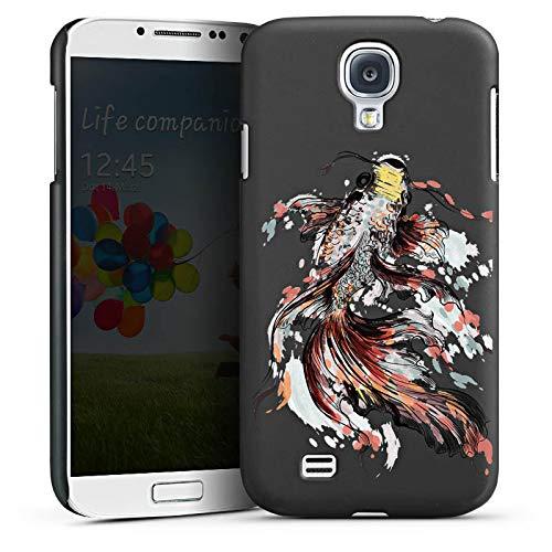 DeinDesign Hülle kompatibel mit Samsung Galaxy S4 Handyhülle Case Koi Karpfen Fisch ohne Hintergrund