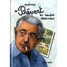 Poèmes de Jacques Prévert en bandes dessinées