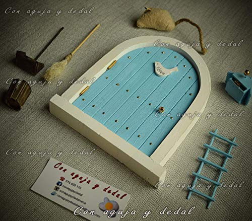 Autentica Puerta Ratoncito Pérez Mágica Movil  De regalo un Certificado de 1º Caida  El Ratoncito Pérez, vendrá a por tu diente y te dejará una monedita