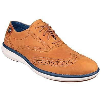 Skechers Mark Nason Whitby - Chaussures de ville en cuir - Homme (39.5 EU) (Rouille)