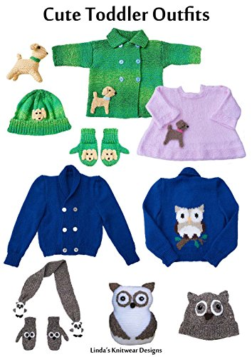 Double-breasted-design (Cute toddler outfits to knit with dog or owl design (Cute baby/toddler outfits Book 2) (English Edition))