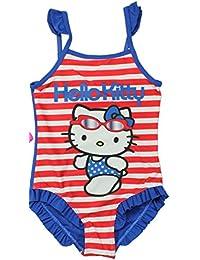Hello Kitty Badeanzug in 2 verschiedenen Farben