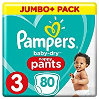 Pampers Baby Dry Pants taille 3couches, avec des canaux Air de sauna