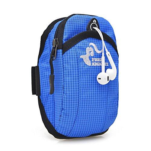 Outdoor Sport, Laufen, Ausrüstung, Handy - Arm In Arm Tasche, Arm Mit Hand - Tasche Blue