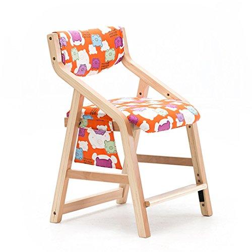 Gflyme sedia da studio for bambini sedia da pranzo sedia da scuola primaria sedia da ufficio in legno massello sedia da ufficio sedia da ufficio (color : a)