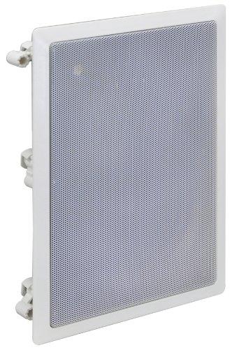 Weiß 60 W Flush Wandhalterung Lautsprechersystem Geliefert mit Befestigungssatz