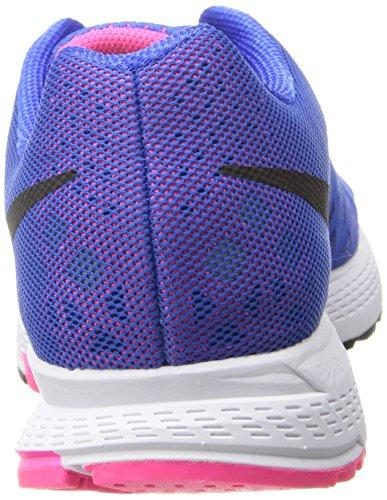 Nike Wmns Zoom Pegasus 31 Scarpe da Corsa Blu/rosa (Hyper Cobalt / Black-Hyper Pink)
