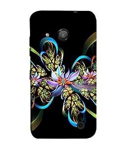 PrintVisa Designer Back Case Cover for Microsoft Lumia 550 (Kaleidoscope Decoration Decorative Generate Highlight Abstract Beautiful Artistic)