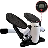 Powrx mini stepper with LCD console (calorie counter, pedometer, timer)