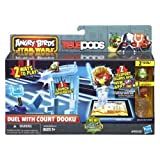 Angry Birds Star Wars Telepods Duel with Count Dooku Playset by Angry Birds TOY (English Manual)