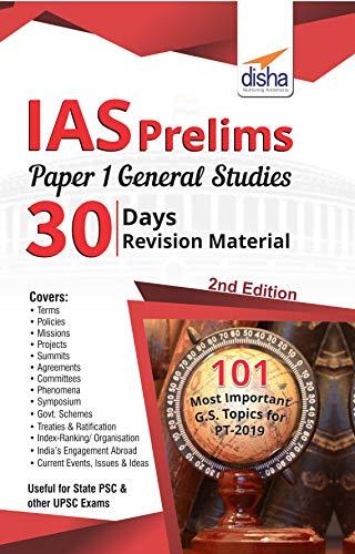 IAS Prelims Paper 1 General Studies 30 Days Revision Material