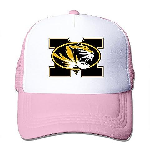 Hittings Missouri Tigers Sports Teams Of The University Snapback Style Hat Vogue Black Pink