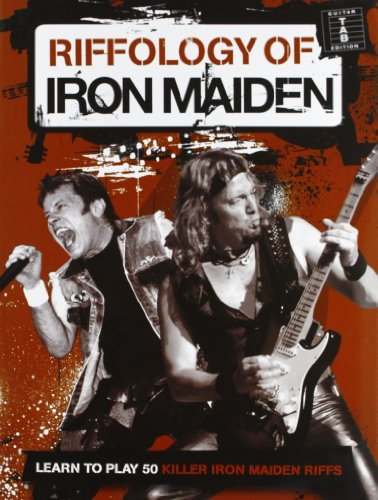 Riffology Of Iron Maiden Guitar: Noten, Lehrmaterial für Gitarre (Tab) (Iron Maiden Kunst)