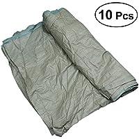 OUNONA - Bolsas de plástico para arena (10 unidades, polipropileno)