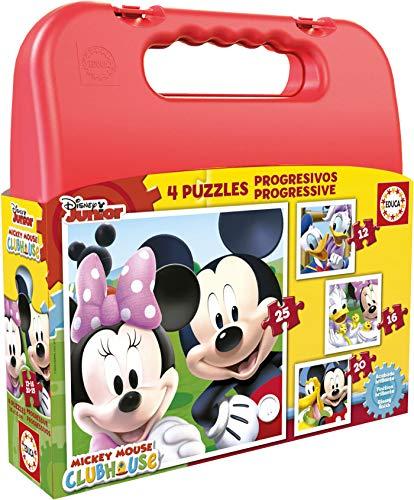 5. Maleta de puzzles Disney de Educa