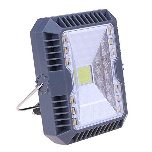Matefielduk Solar-Projektor, 3 Modi, USB, wiederaufladbar, mit Lampe -