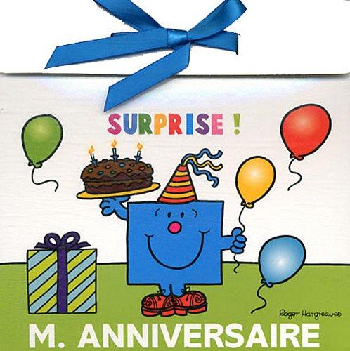 Pochette anniversaire Monsieur par Hachette
