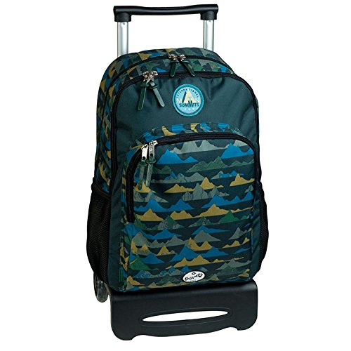 mochila escolar doble carro SUMMITS by BUSQUETS