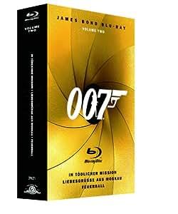 James Bond - Box Vol. 2: In tödlicher Mission/Liebesgrüsse aus Moskau/Feuerball [Blu-ray]