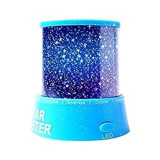 Aeeque® Romantisch / Blau Sternenhimmel Mini-Stern-Projektor / mit USB Kabel / LED Nachtlicht Projektor Lampe Kinder Nachttischlampe Schlafzimmer Haus Dekoration