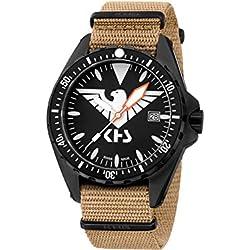 KHS Tactical Watches MissionTimer 3   Eagle One KHS.MTE.NT Militär Armbanduhr