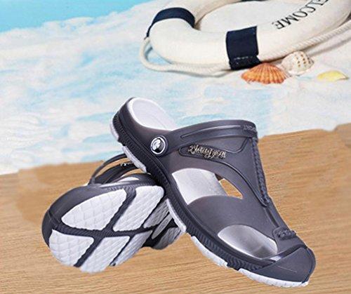 Sentao Uomo Coppie Traspirante Sandali Spiaggia Pantofole Casuale All'aperto Scarpe Giardino style 2