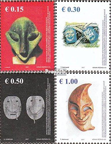 Kosovo (UN-verwaltung) 79-82 (kompl.Ausg.) gestempelt 2007 Masken (Briefmarken für (Maske Sammler)