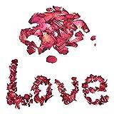 Bluelover Secado Pétalos De Rosa Natural Flor Spa Blanqueamiento Ducha Seca Rosa Natural Pétalos Baño Aliviar Fragante Cuerpo