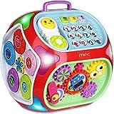 Miric - 7 en 1 Juguetes con Sonido, Dados de Aprendizaje de Rompecabezas, Juguetes Educativos de Aprendizaje Electrónico para Bebés