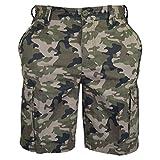 Pantalones cortos de algodón para hombre, de estilo informal, militar, de trabajo,...