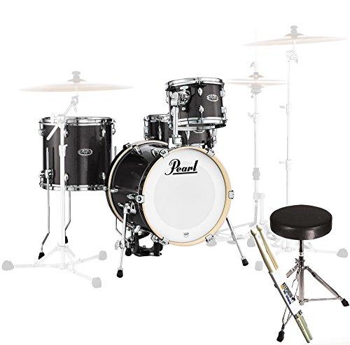 pearl-mdt764p-c701-midtown-black-gold-sparkle-shell-set-keepdrum-hocker-drumsticks