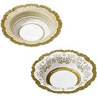 Scodella oro 12 piatti in 2 decori