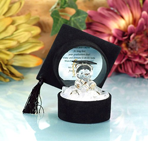 dy Bear with Poem in Mortar Board Cap Box by Cellini ()