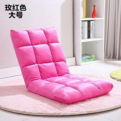 Dngy*persona perezoso sofá sofá pequeño felpudo asiento sofá cama, sillas ergonómicas y el vidrio del asiento , la gente perezosa en rojo