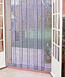 Morel Rideau portière moustiques Arles 4bandes 100x220