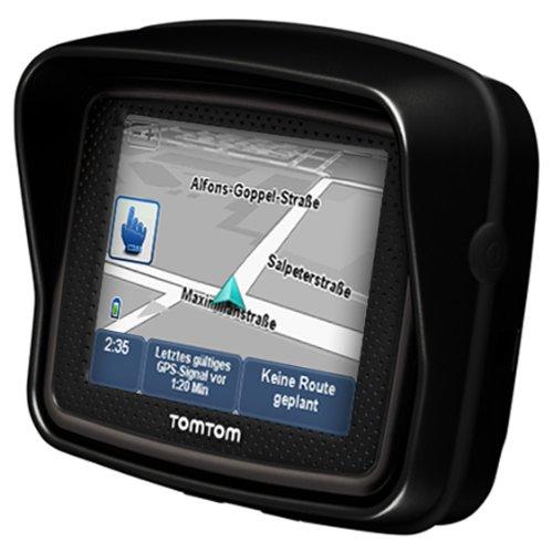 Bild 2: TomTom Urban Rider Central Europe Motorrad-Navigationssystem (8,9 cm (3,5 Zoll) Display, IQ Routes, Fahrspurassistent) mattschwarz