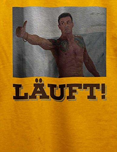 Laeuft 62 T-Shirt Gelb