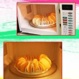 AFfeco DIY baja calorías microondas horno libre de grasa patatas Chips Maker, la última herramienta de hornear para el hogar fácil, bajo desorden, casero, libre de grasa patatas chips
