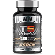 Iron Labs Nutrition, T5 Xtreme – Contains Biotin which contributes to normal macronutrient Metabolism – 180 Capsules