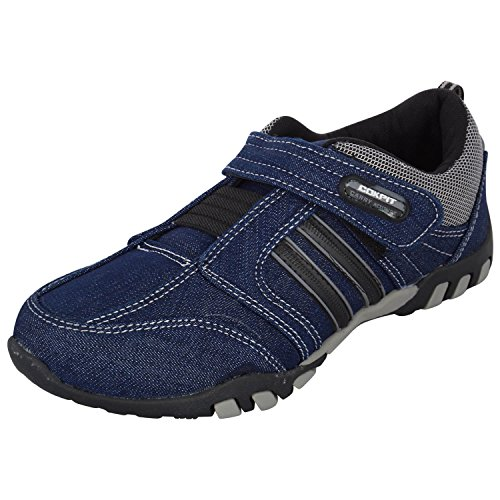 Cokpit Men's Blue Denim Casual Sports Shoes-7