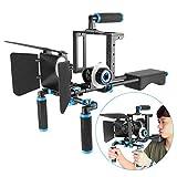 Neewer DSLR Movie Rig Lega Alluminio per Reflex Digitali Canon Nikon Sony(1)...