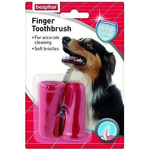 Beaphar - Cepillo dental de dedo, 2 ud