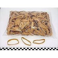 Progom - Gomas Elasticas - 80(Ø50)mm x 10mm - natural - bolsa de 1kg