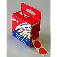 Agipa 115011Marcadores, diámetro: 15mm, redondo, color rojo