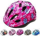 Meteor Casco Bici Ideale per Bambini e Adolescenti Caschi Perfetto per Downhill Enduro Ciclismo MTB Scooter Helmet Ideale per Tutte Le Forme di attività in Bicicletta Helmo HB6-5