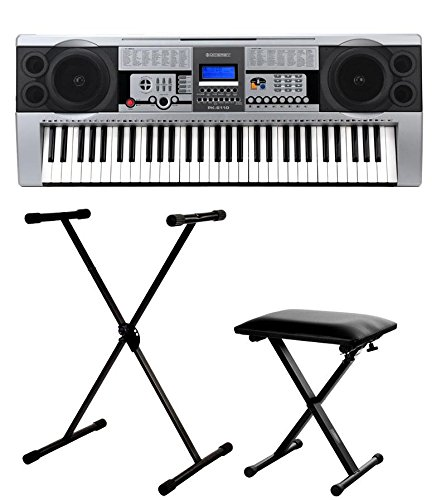 McGrey PK-6110 clavier pack incl. stand et banc
