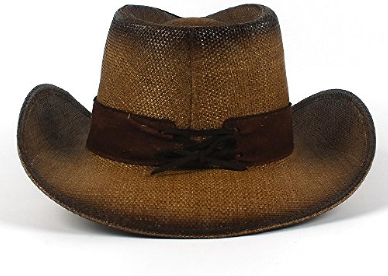 XHD-Cappelli Cappelli Eleganti della Signora del di Estate del Signora Cappello  del Cowboy Occidentale 6425ab16c39a