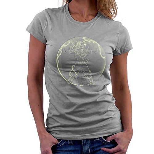 Vitruvian Saiyan Trunks Dragon Ball Z Women's T-Shirt