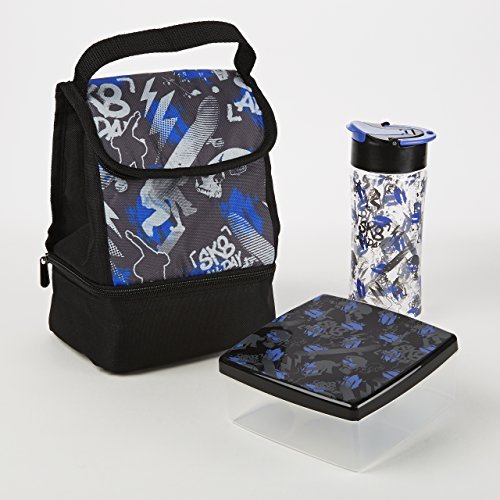 fit-fresh-austin-insulated-bag-kit-with-lunch-pod-and-tritan-water-bottle-sk8-all-day-by-fit-fresh