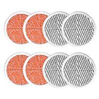 Lopbinte 8 Pack Spin Mop Pads Replacement For Bissell Spinwave 2124, 2039, 2037 Series Powered Hard Floor Mop